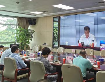 市工业和信息化局组织收视收听2020年度全省工业和信息化系统安全生产工作视频会并召开全市工业和信息化系统安全生产工作会议